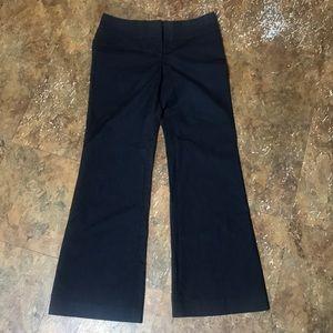EXPRESS size 6 dark denim-style work pants
